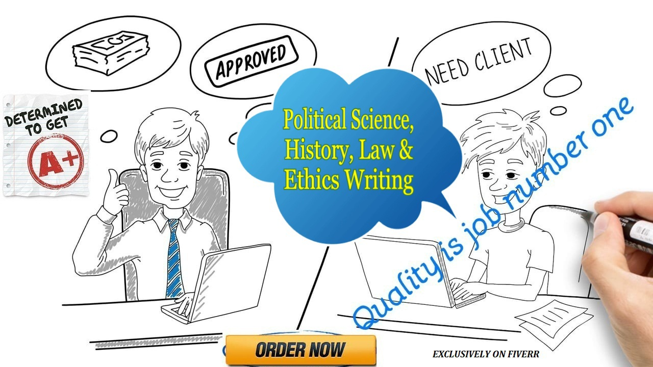 Best Political Science, History, Law And Ethics Research Work