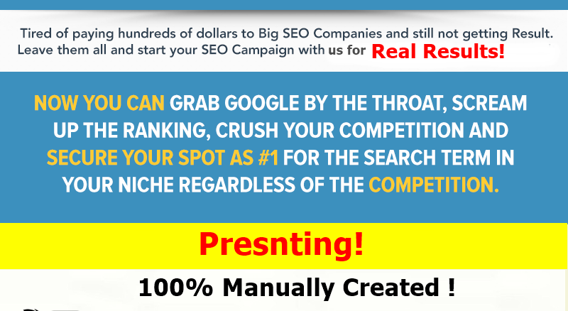 Google Influencing,  i will manually do 45 Backlinks from High 60+ DA PA Backlinks for