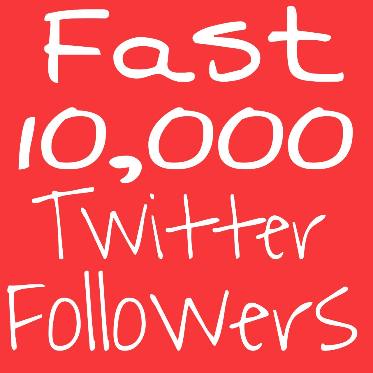 You Will Get WorldWide 10000+ Real Followers High Quality NonDrop