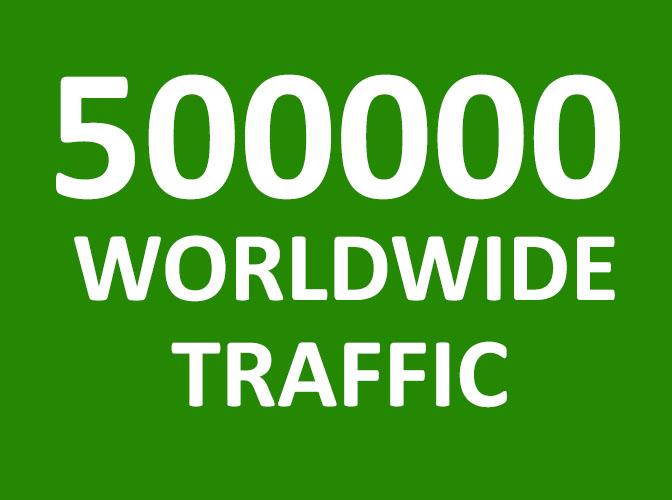 5,00,000 Website Traffic Worldwide - 5 Lakh website Traffic