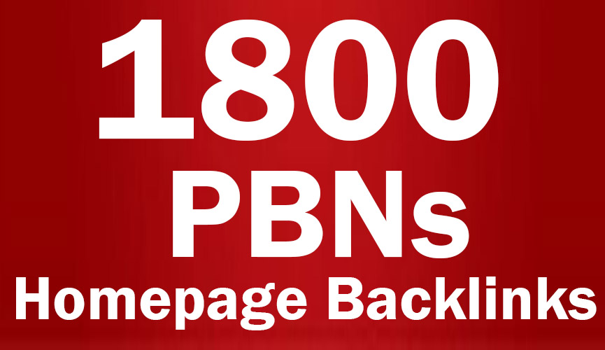 1800 web 2.0 Permanent Homepage Backlinks - Manual work