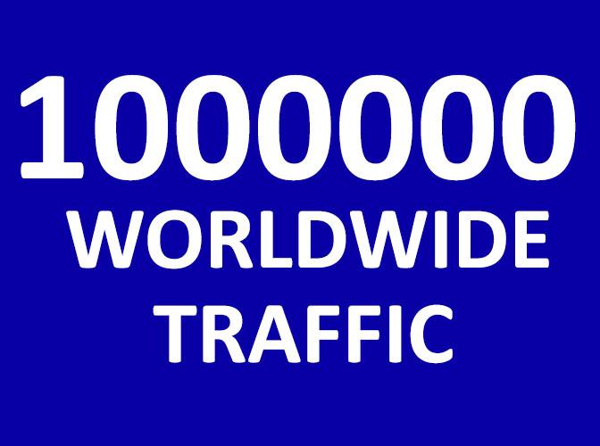 1000000 Website Traffic WORLDWIDE -TEN LAKH TRAFFIC