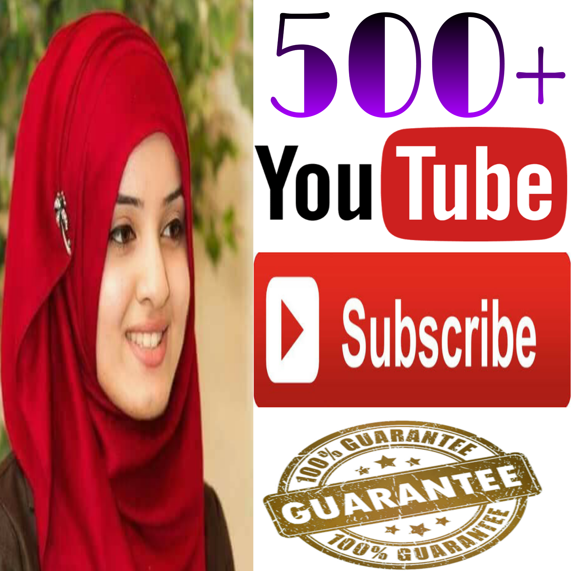 INSTANT provide manually  500+ NON-DROP guaranteed YT channel SUBSCRIBERS very fast delivery within 2-9 hours