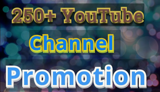 Get Instant Manually Channel Promotion Non Drop