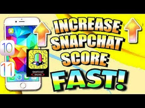 50,000 snapchat Score Increase (Instant)