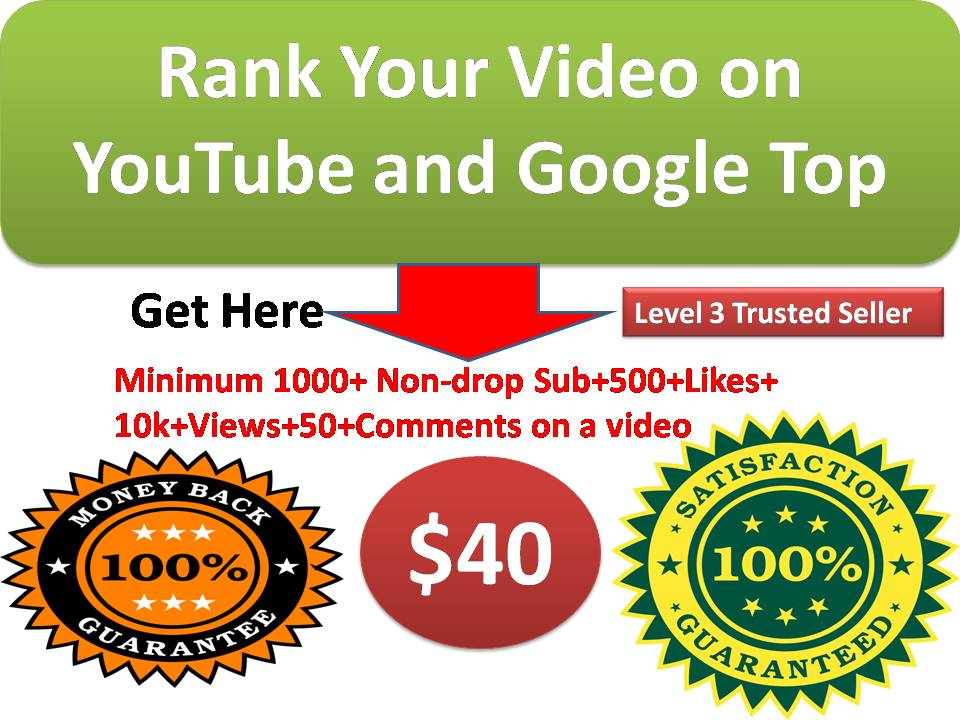 Provide you Rank  Your YouTube  Video On 1 page  with full report and fast delivery