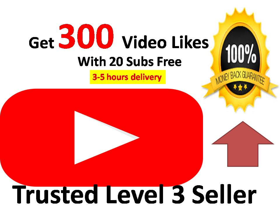 Add  Instant start 300+Likes on your video and get free 20 Subs on your Channel with very fast delivery