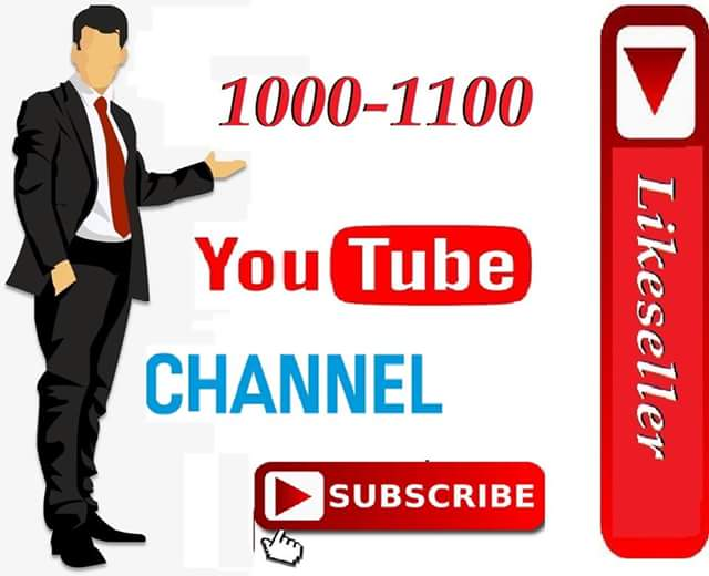 Very cheap 1000 youtube Channel  subs cribe 24-48 hours delivery