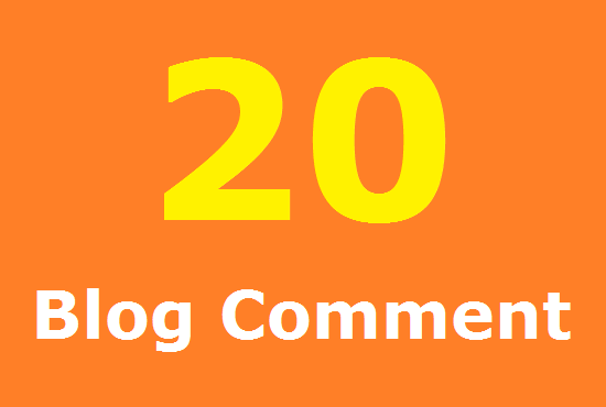 20 Related Blog Comment In Your Blog site Done Manually