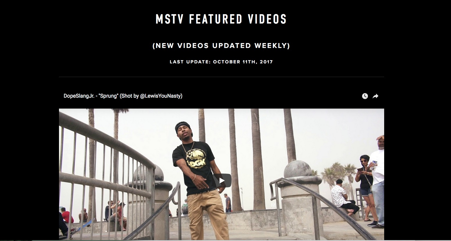 Post your video on MusicspeaksTV.com TOP banner for a week + PROMO