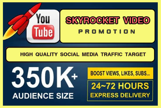 Promote Skyrocket Traffic To Your Youtube Video