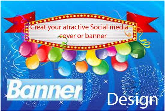 Create your social cover or banner