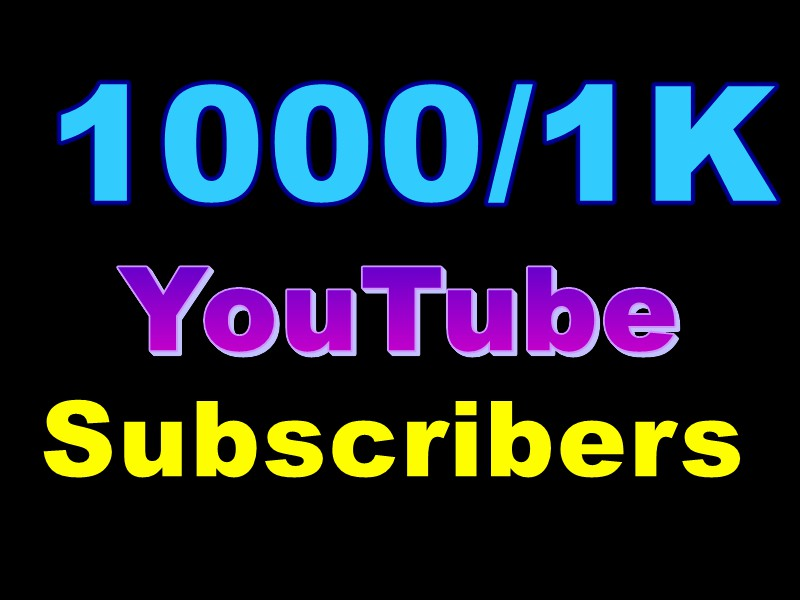 Wonderful Quick 1000+ Not At All Drop You+Tube Subscribers