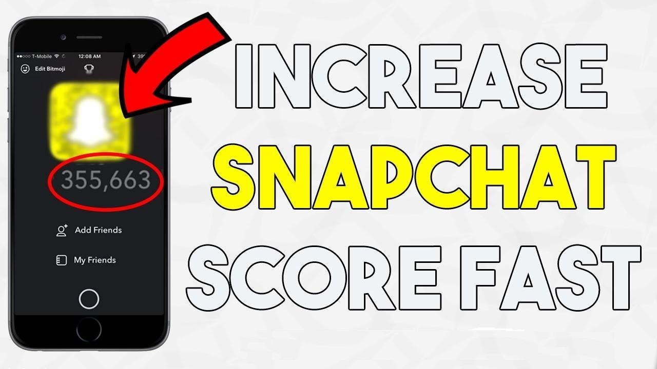 Provide you 50,000+ snapchat score