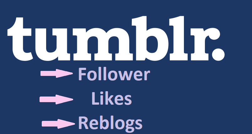 250+ Tumblr Follower/Like/Reblog with High Quality & USA Based tumblr accounts