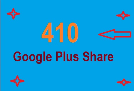 Buy 410 Google Plus Share , social signals on any Link only on in $1