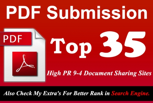 Do A PDF Submissions To 35 Document Sharing Sites
