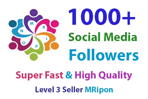 Super Fast 1000+ High Quality Likes or Followers