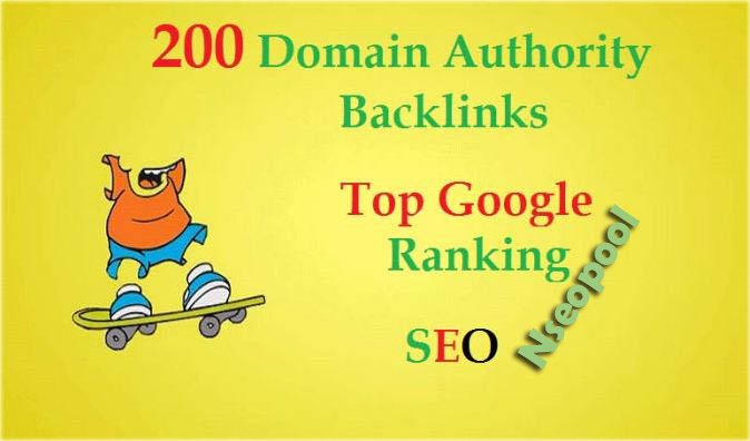 Link Building 200 SEO Backlinks To High DA & PR Website