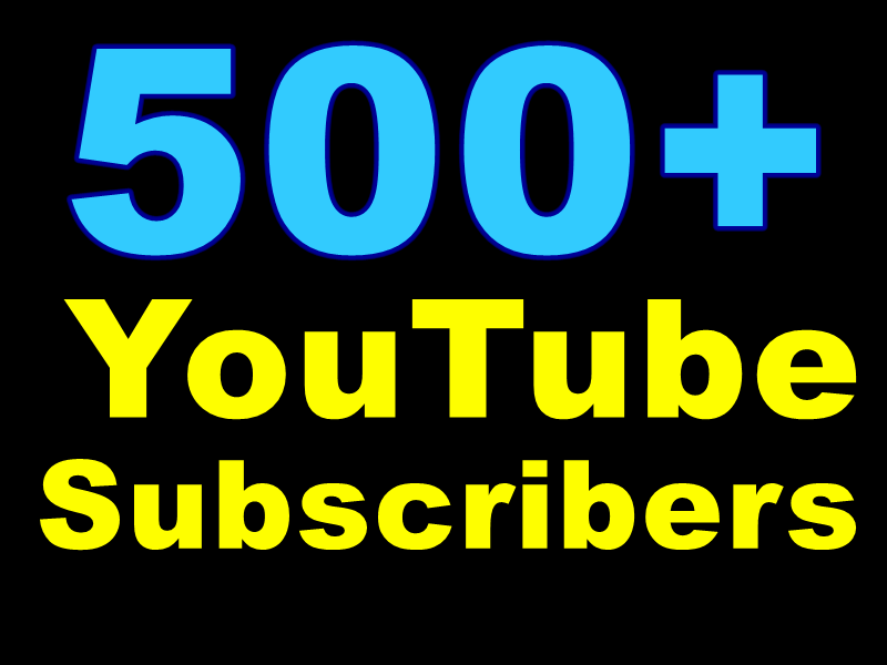 Get 1000+ YT Likes Or 500+ YouTube Subscribers Actual Physically Added