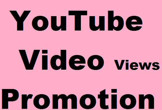 YouTube Video Promotion and Social promotion