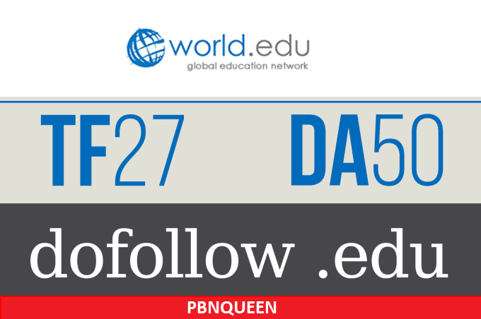 Publish Guest Post On World. edu with Dofollow Backlink