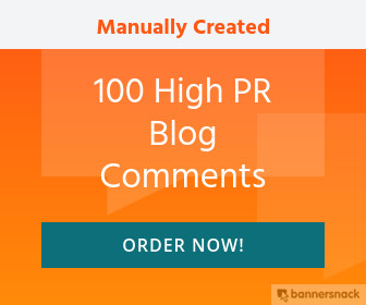 100 High PR Blog Comments Manually Created-Niche related