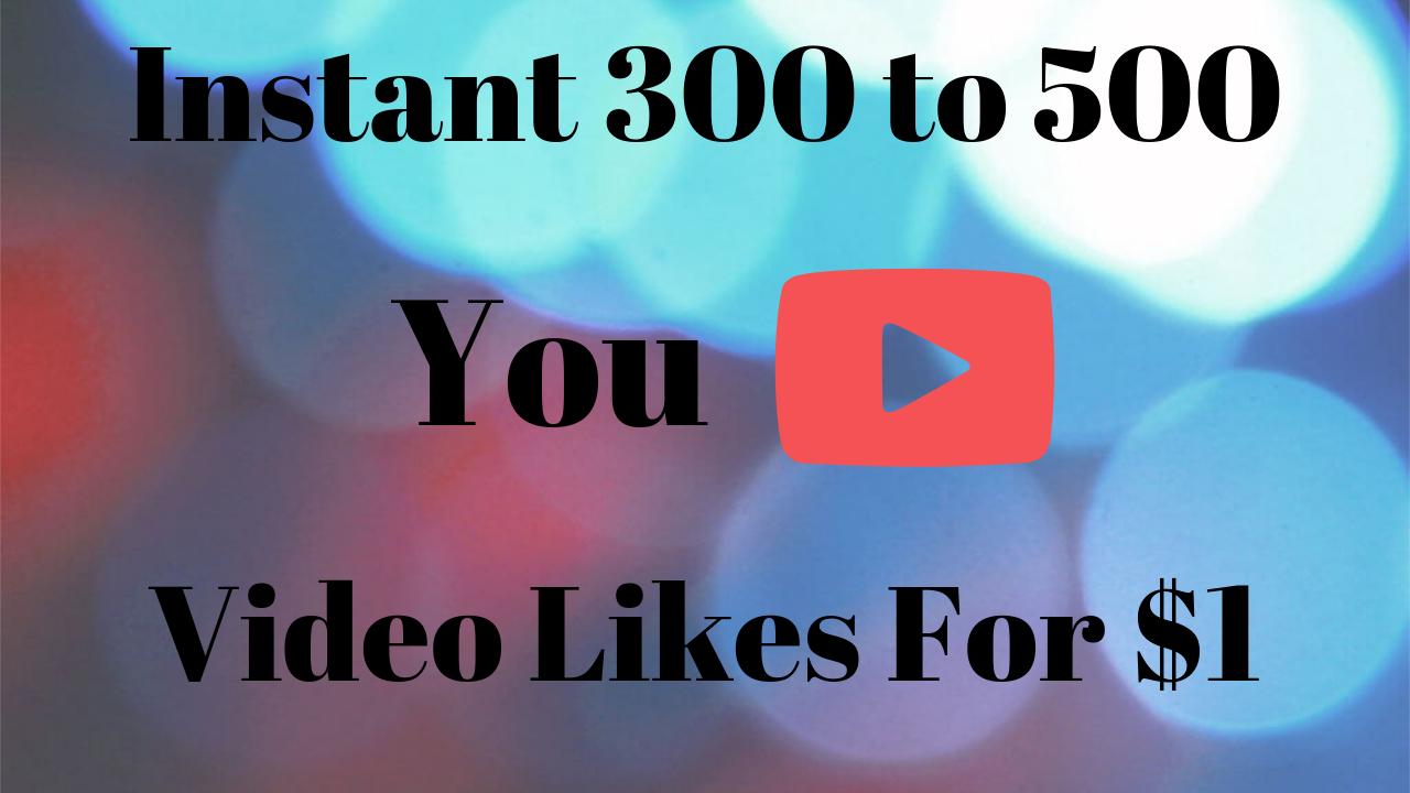 350+ to 450+ Youtube Video Li kes - High Quality