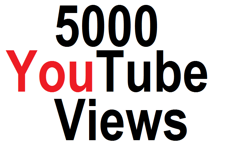 Get 5,000 High Quality  Y-Tube Views Fully safe With  Life Time Guarantee