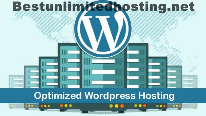 Optimized wordpress hosting with already installed wordpress