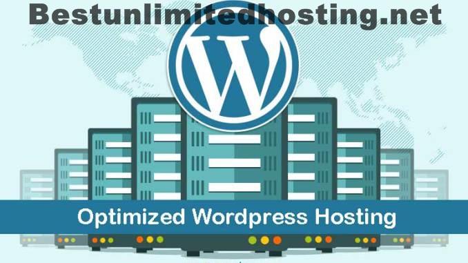 Optimized wordpress hosting with already installed wordpress