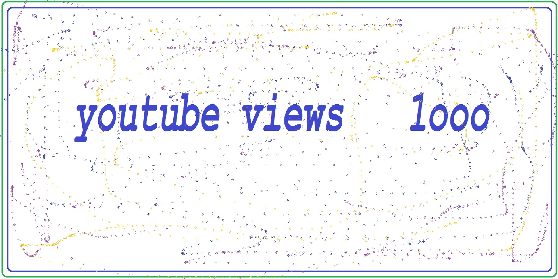 per day 1000 yt views or 5000 human web traffic your website