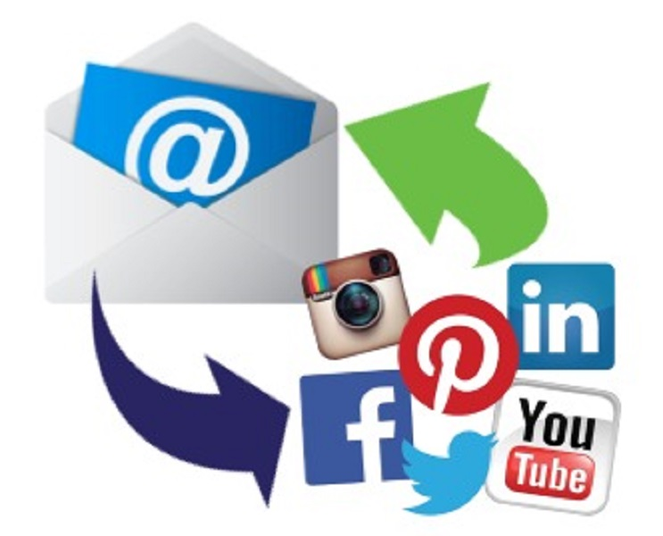 Publish to all social network accounts and email leads at once