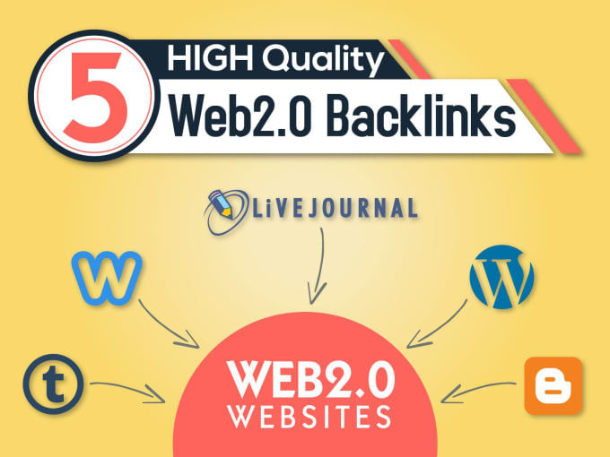 I Will Manually Create 30 Web 2.0 Blogs Using High PR9, PR7, DA/ PA 90 to 99 Domain With Google Index