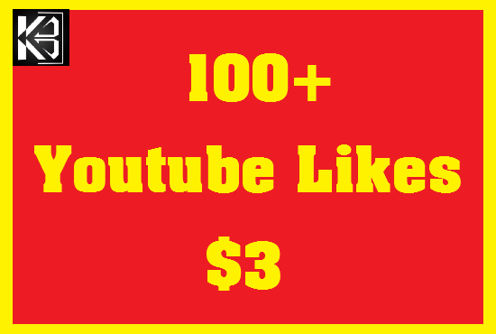 100+ Youtube Likes High Quanlity Real & Non Drop