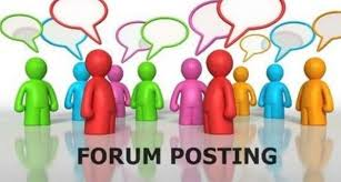 Get 25 high PR forum posting