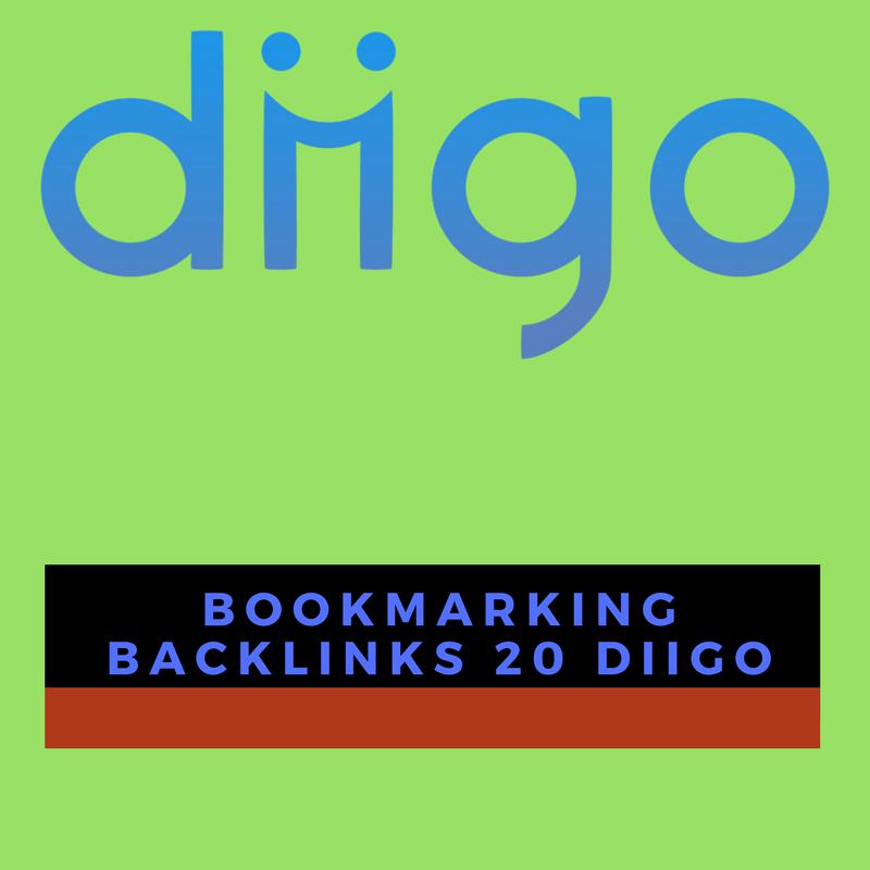 Create 20 Social Bookmarking Backlinks with Diigo