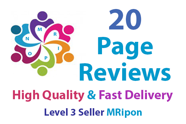 20 High Quality Social Page 5 Star Rating