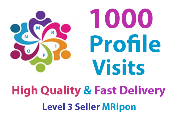 Get Instant 1000 High Quality Social Profile Visits