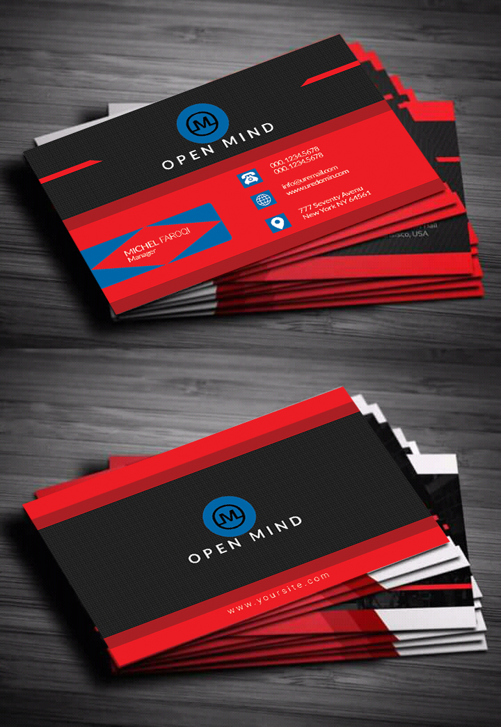 Design Your Double Sided Business Card In 24 Hours