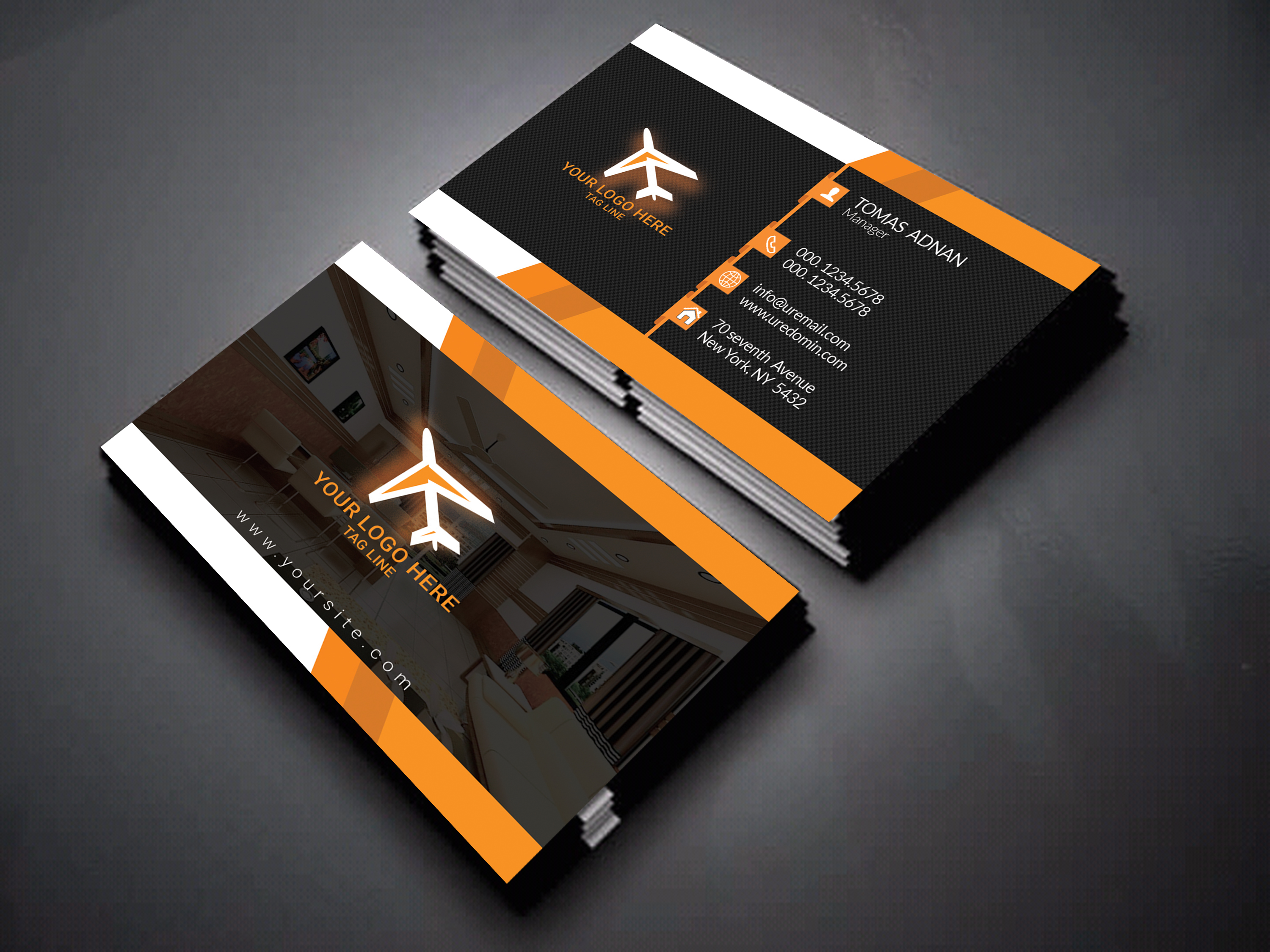 Design An Amazing Business Card Or Post Card