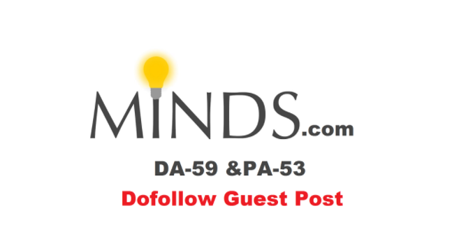 Write and Publish a High Quality Guest Post on MINDS DA 68