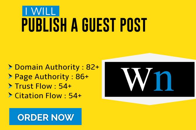 Write+ Publish Your Guest Post On Medium. com,  Wn. com,  diigo. com