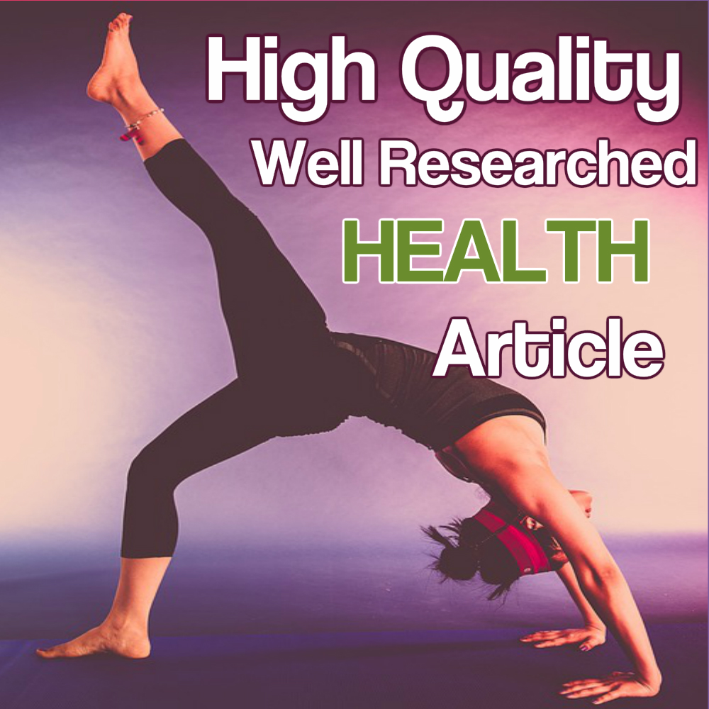 Health Niche - 500 Words Unique Readable Researched SEO Article or Blogpost