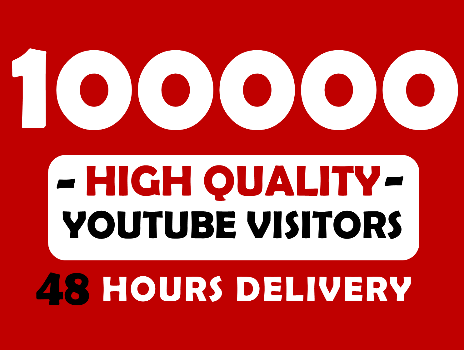 10,000 To 12,000 High Quality YouTube Delivery Time