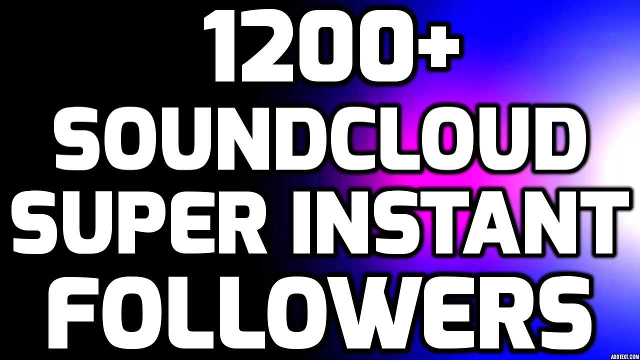 Real Super Instant 1000-1500+ Followers