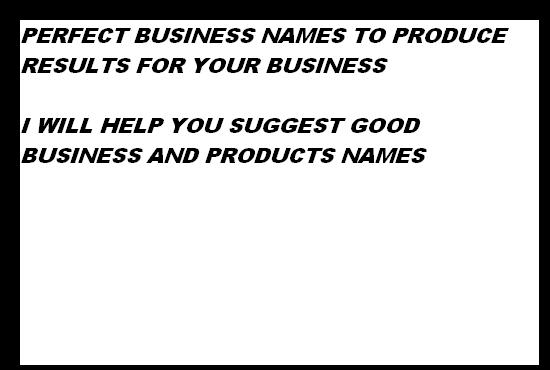 suggest 15 brand names for your business
