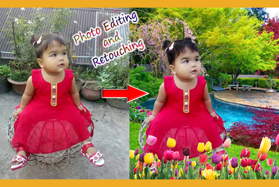 I will can do any photoshop editing and photo re-touch