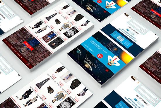 I can make website design