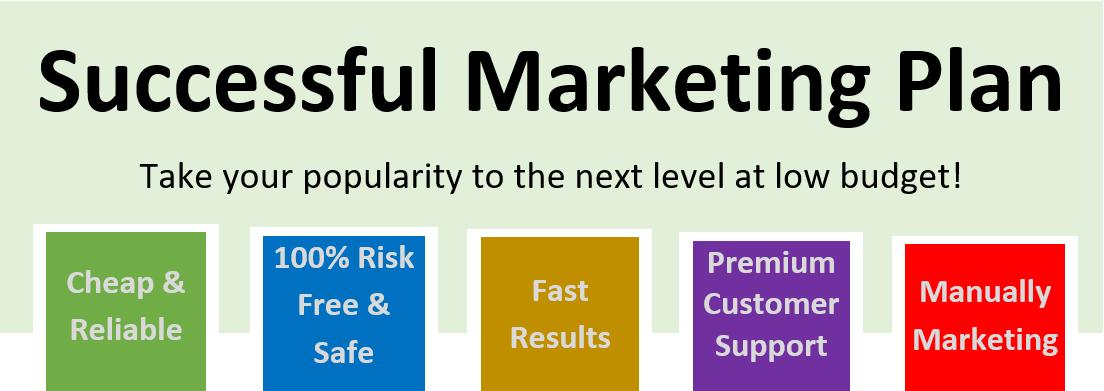Successful Marketing Plan - Pack 450